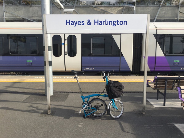 Hayes and Harlington station