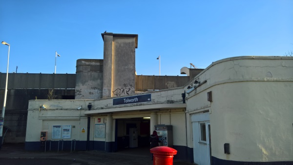 Tolworth station