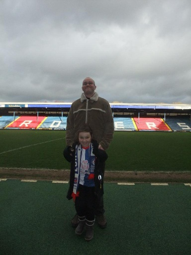 Down at Ewood Park, home of football and chicken farmers