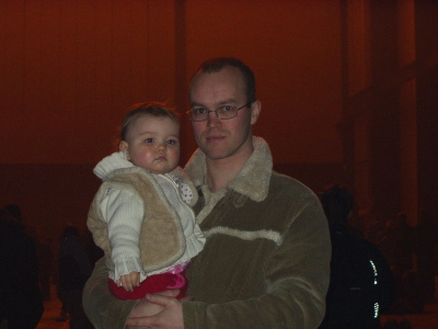 Me and daddy at the Tate Modern