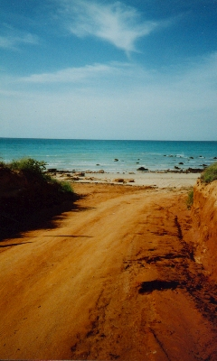A beach near Broome