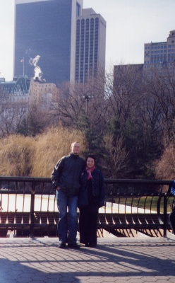 Me and Jo in Central Park