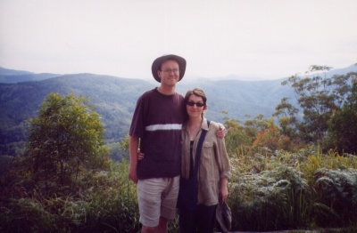 Me and Jo at Barrington Tops