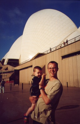 Me and Adam at the Opera House