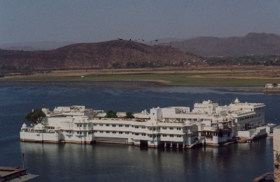 The Lake Palace at Udaipur