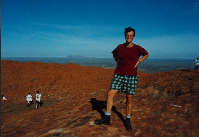 Me on top of Uluru